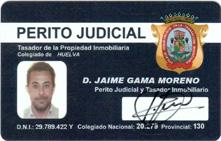 Carnet Perito Judicial